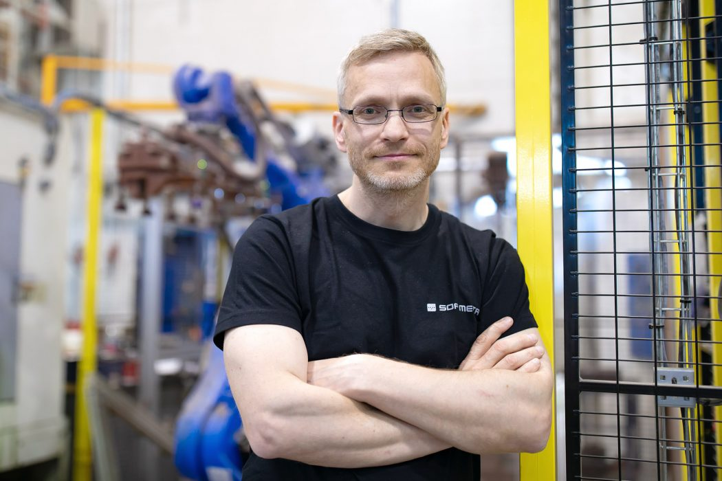 """SOP-Metalin tuotantopäällikkö Jarkko Jämsä: """"Pk-yritys on kaikin puolin mukava paikka olla töissä"""""""